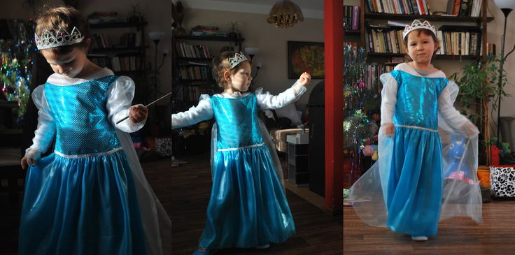 My small princess with Elsa Dress... when dreams come truth..  ;)