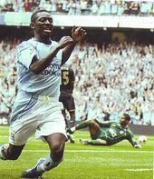 Man City 6 Portsmouth 0 in Sept 2008 at Eastlands. Shaun Wright Phillips got himself back on the scoresheet for City #Prem