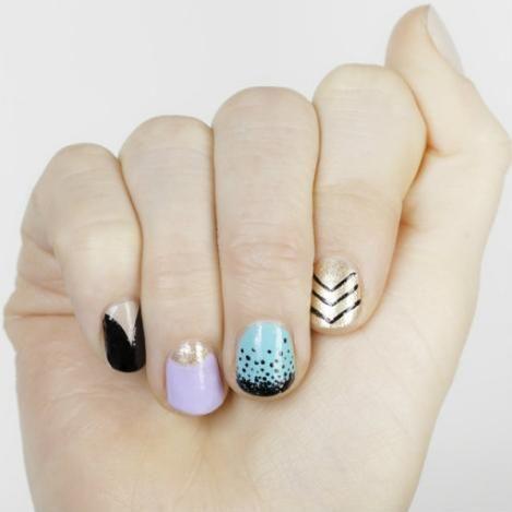 Cute Nails #nail #unhas #unha #nails #unhasdecoradas #nailart #gorgeous #fashion #stylish #lindo #cool #cute #fofo #mixedprints #awesome #lovely
