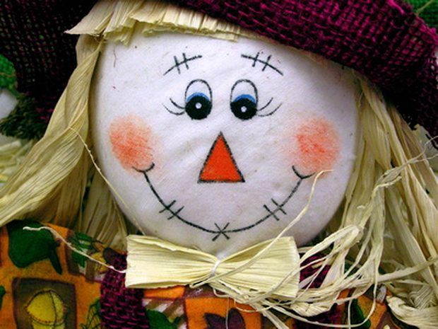 How to Make a Happy Scarecrow Face Painting | eHow UK
