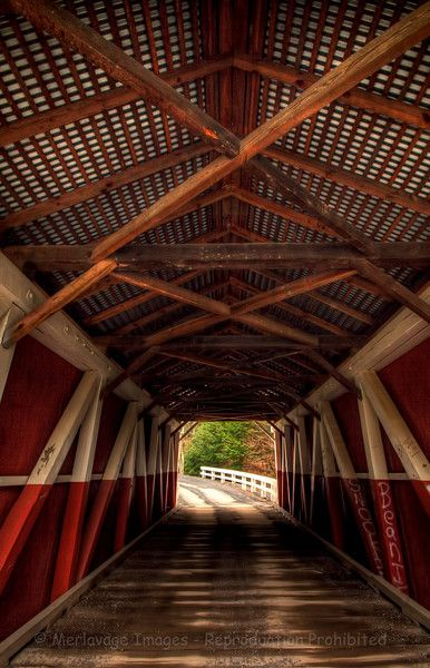 Pack Saddle Covered Bridge ( Merlavage image)