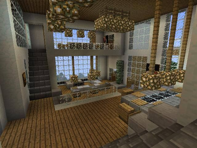 Minecraft interior goals