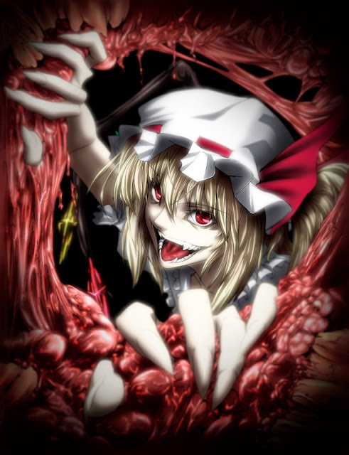 That Flandre Scarlet really goes overboard with the battles.