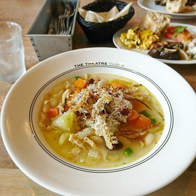 #お昼ごはん#昼食#ランチ#サラダ#スープ#肉#パン#卵#パン屋#食べ放題#レストラン#カフェ#カフェ飯#ワンプレート#lunch#lunchtime#butter#salad#vegetables#bread#cheese#beef#potato#soup#restaurant#cafe#Instafood#tokyo#japan#渋谷