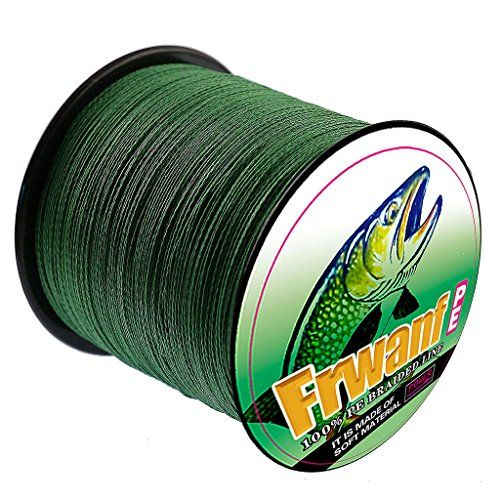 Frwanf Braided Fishing Line - Super Strong Multifilament Fishing Wire PE FishingLine - Ultra Sensitive - Low Memory - Smaller Diameter - Less Color Fade  https://fishingrodsreelsandgear.com/product/frwanf-braided-fishing-line-super-strong-multifilament-fishing-wire-pe-fishingline-ultra-sensitive-low-memory-smaller-diameter-less-color-fade/  PE BRAIDED FISHING LINE: strong knot strength,four or eight strands high-strength PE fiber threads make it easy to tie a solid knot and a