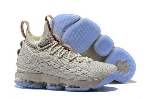 976b1a9edd0bb New Nike LeBron 15 Ghost String Vachetta Tan-Sail 897648-200 - Mysecretshoes
