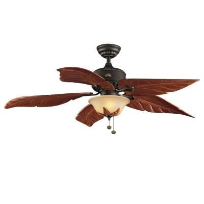 Hampton Bay Antigua 56 in. Oil Rubbed Bronze Ceiling Fan-73540 at The Home Depot