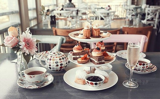 hotlist of venues for tea, scones, petits fours and civilised conversation