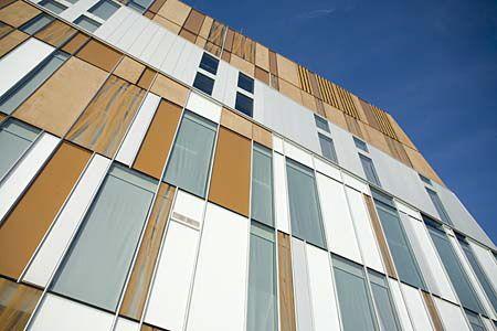 Erick van Egeraat Associated Architects' Metzo College in the Netherlands.