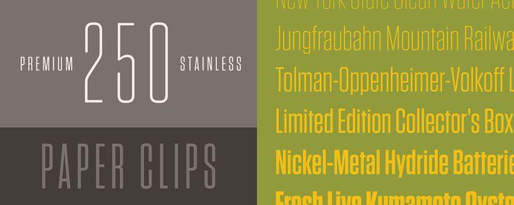 Tungsten | Hoefler & Frere-Jones