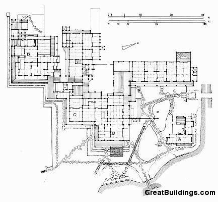 Katsura Imperial Villa - example of flexible space, changes of level