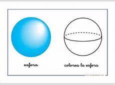 En esta imagen podemos ver una esfera. Una esfera es: Una esfera es la región del espacio que se encuentra en el interior de una superficie esférica. La fórmula del área es: 4 por π por radio al cuadrado.