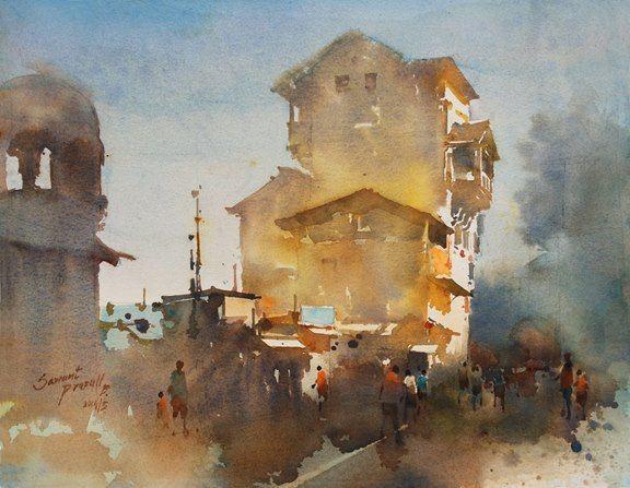 Prafull Sawant watercolor - Google Search