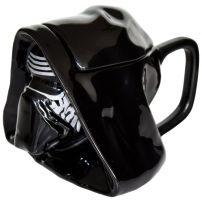 Kubek Star Wars 3D Kylo Ren z wieczkiem i wygodnym uchem