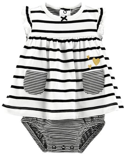 fd0dfdc225a Striped Pocket Sunsuit