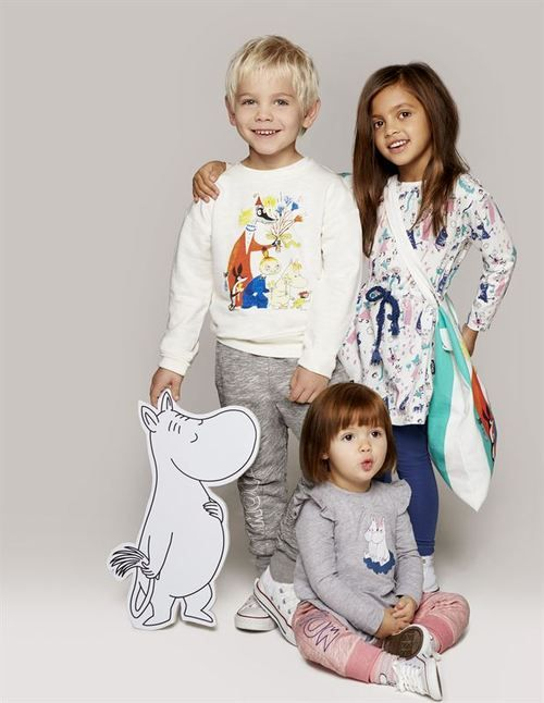 Lindex celebrating the author and artist Tove Jansson with a unique Moomin Collection
