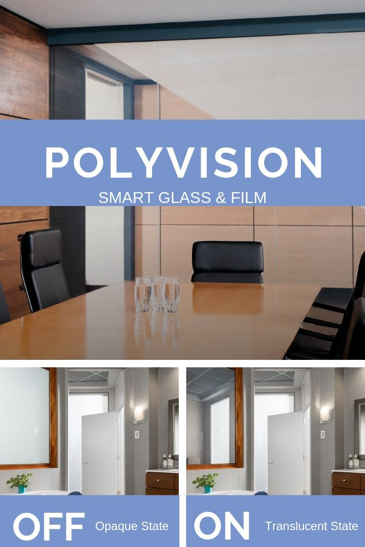 Our Polyvision Switchable Privacy Film And Switchable Privacy Glass Is An Opaque White Smart Film Laminated Between Gla Smart Glass Privacy Glass Clear Glass