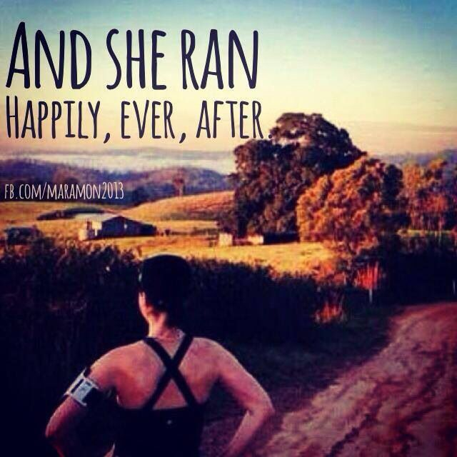 RUN....BUT DO NOT FORGET TO SEE THE BEAUTY AROUND YOU...STOP AND SEE THE VEIW