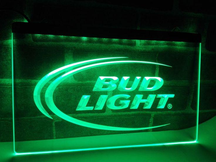 Bud Lite Beer Bar Pub Club Logo LED Neon Light Sign home decor crafts Man Cave