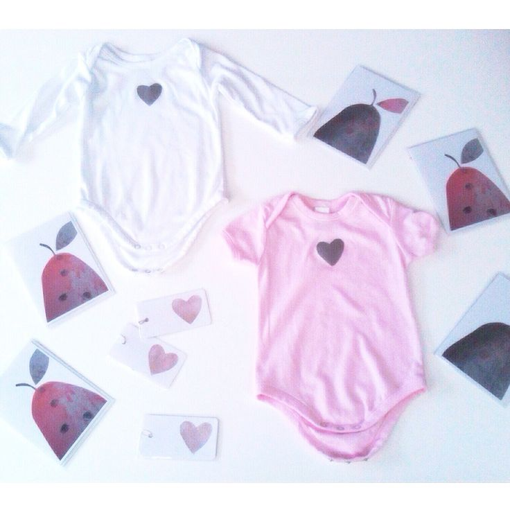 Limited edition 'Metallic Mini-hearts' bodysuits:  ➕one kids collection:  metallic 'oxidised silver heart' on  pink + white 100% cotton: sizes - newborn up to 18months. designed + individually hand-painted by Claire Webber using eco friendly water based paints:  non-toxic.  Also 'Pretty Pear' cards in pink + grey.  Prints taken from original artworks by Claire Webber.  Handpainted Hobart, Tasmania.  For more info: webberclaire1@gmail.com