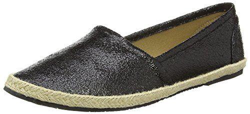 Buffalo Shoes 327423 LH-129, Damen Espadrilles, Schwarz (BLACK 01), 37 EU - http://on-line-kaufen.de/buffalo-69/37-eu-buffalo-327423-lh-129-damen-espadrilles-3
