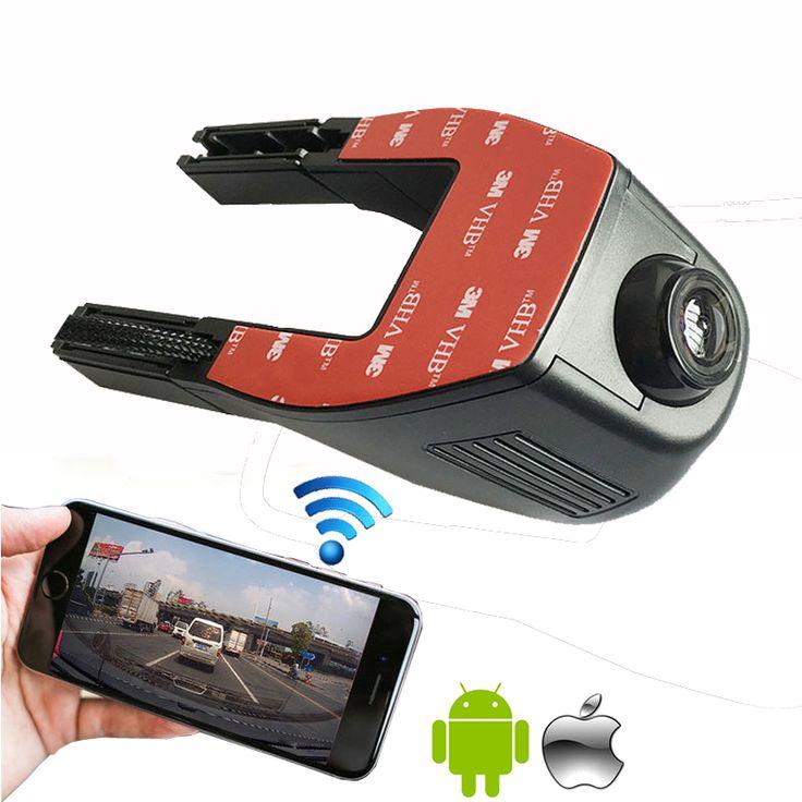 Más nuevo iphone & android wifi conexión oculta cámara coche manual hd dvr 1080 p para todos los coches