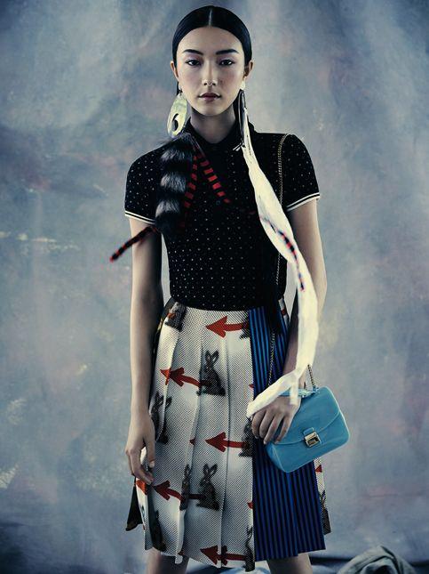 model natasha bordizzo, hair nicolas jurnjack, make up victoria baron, photo nicole bentley, vogue australia