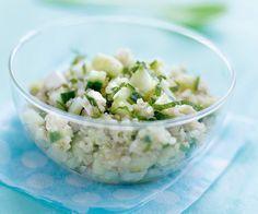 #Salade de #quinoa au #concombre et à la #menthe