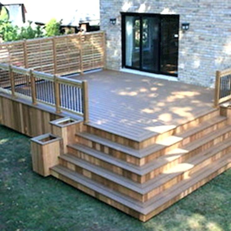 Backyard Deck Outside Deck Design Ideas Best Backyard Designs On