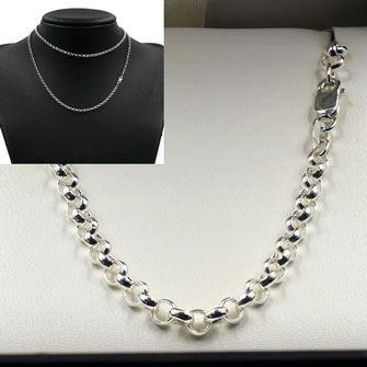 Sterling Silver Belcher Chain - MM-BEL-0015