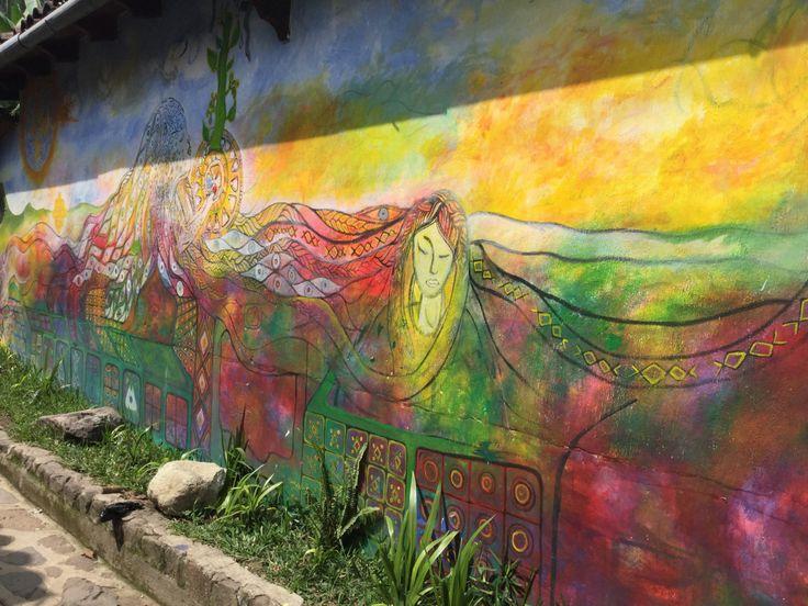 Street Art, Lake Atitlan, Guatemala