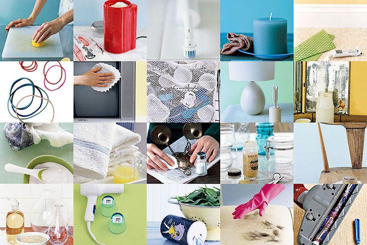 Ещё 20 маленьких хитростей для чистоты в доме