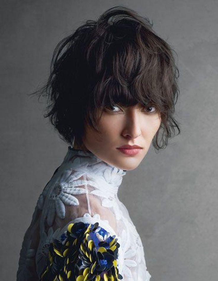 1000 Id Es Sur Le Th Me Carr S D Grad S Boucl S Sur Pinterest Cheveux Bruns Boucl S Carr