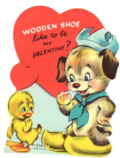 "Ah, the ever-popular ""wooden shoe"" pun..."