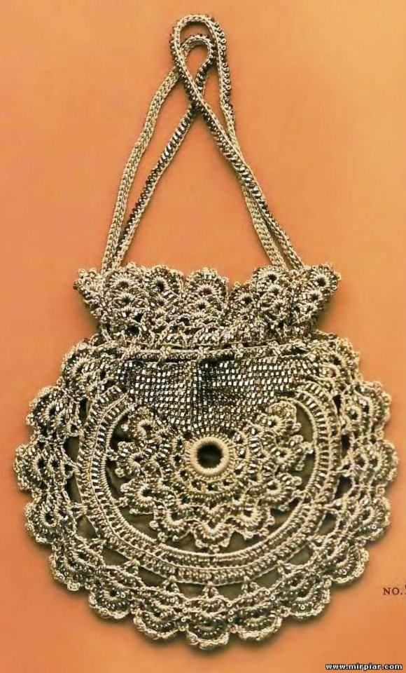 Crochet Bag Chart : Bee-u-ti-ful Crochet Purse: charts crochet bags Pinterest
