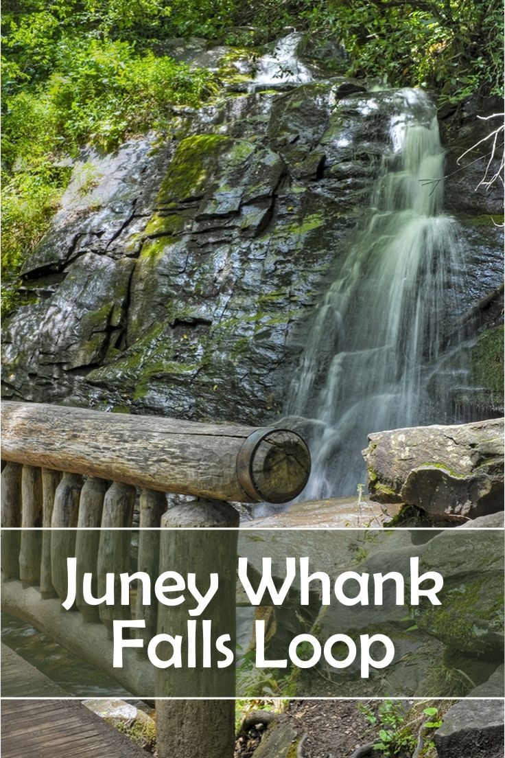 Begin in Bryson City, North Carolina for the quickest access to Juney Whank Falls Loop. This hike is moderately difficult, but not very long at only 0.8 miles. Horses are allowed on this trail. You will enjoy waterfalls, streams, and cascades on this hike.