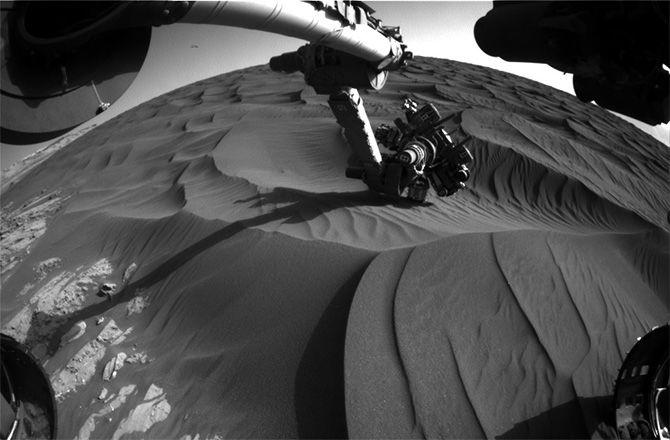 Тайны дюн Марса