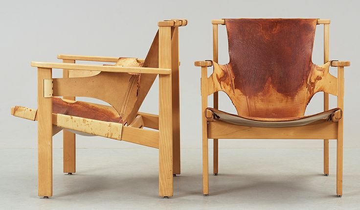 Quot Trienna Quot Armchairs By Carl Axel Acking Mid Century