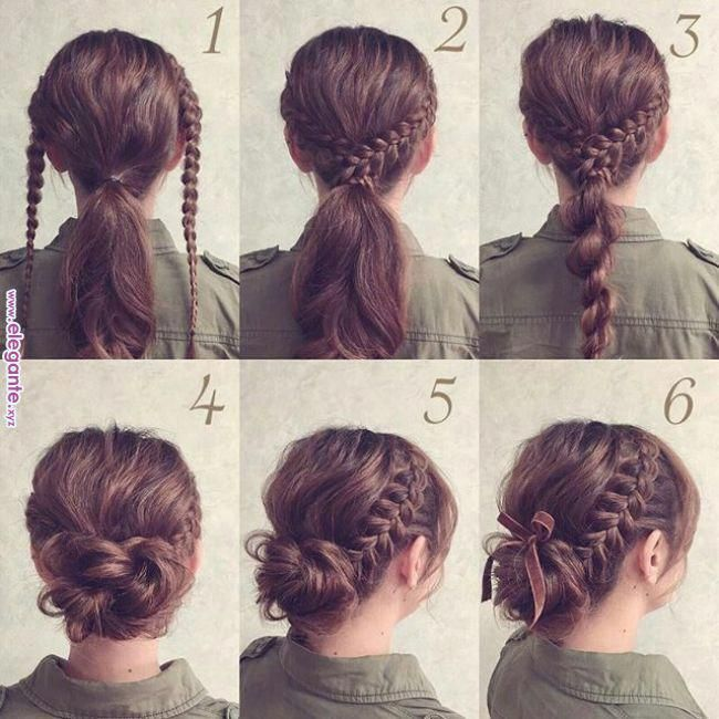 Excellent Pic Braided Hairstyle For Work Suggestions This Braid Every Person S Favourite Effortless Styli Braided Hairstyles Updo Lazy Hairstyles Hair Styles