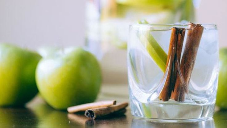 So simple, delicious, and healthy, this Apple Cinnamon Water is sure to become a staple in your fridge!