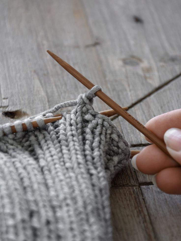 DIY   Yogasocken stricken und Anleitung elastisch abketteln