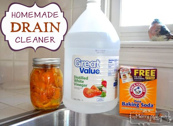 Homemade Drain & Garbage Disposal Cleaner This is the easiest and most natural recipe you'll find to clean your drains and garbage disposals! It also works to c...