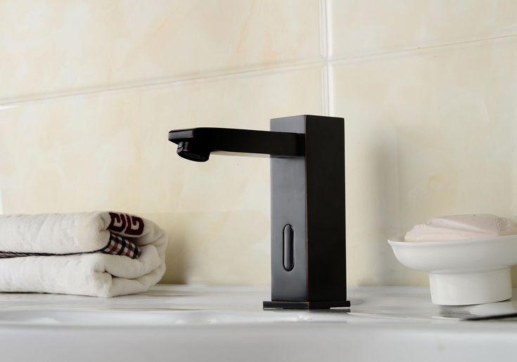 Salle de bain Bronze huilé évier robinet avec capteur automatique RB0116R http://www.robinetshop.com/salle-de-bain-bronze-huil%C3%A9-%C3%A9vier-robinet-avec-capteur-automatique-rb0116r-p-678.html