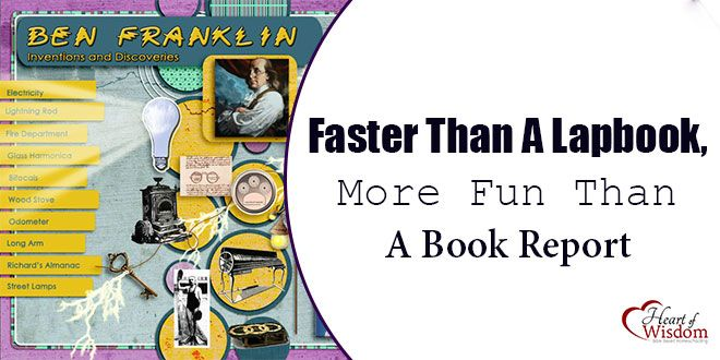 what u2019s faster than a lapbook  more fun than a book report