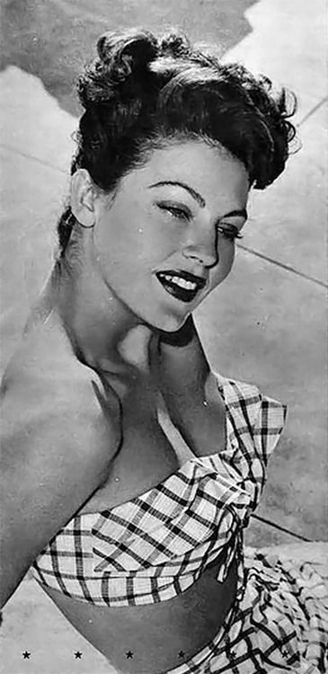 Ava Gardner # В 1950-е годы её начали раскручивать под девизом «самое…