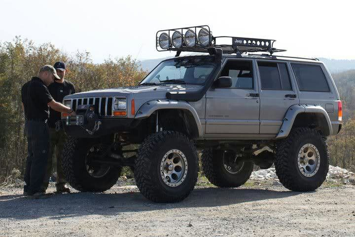 Lifted Cherokee #roof #rack | Sick Rides | Pinterest | Roof Rack, Cherokee  And Jeeps