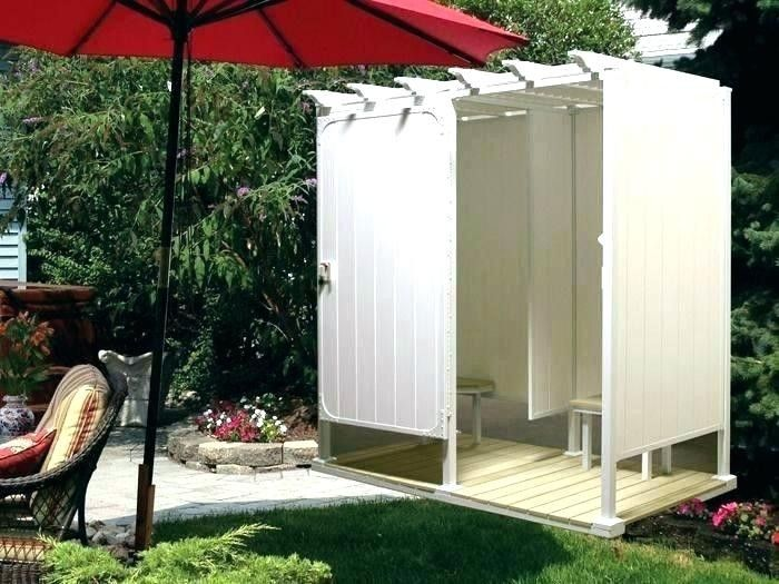 Outdoor Shower And Bathroom Design Ideas 2019 Outdoor Shower And Toilet Ideas Dog Potty Area By The Outdoor Shower Kits Outdoor Bathroom Design Outdoor Shower