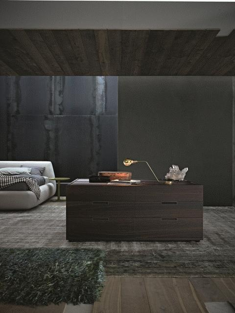 POLIFORM: Java chest of drawers, Big Bed and Flute coffee table