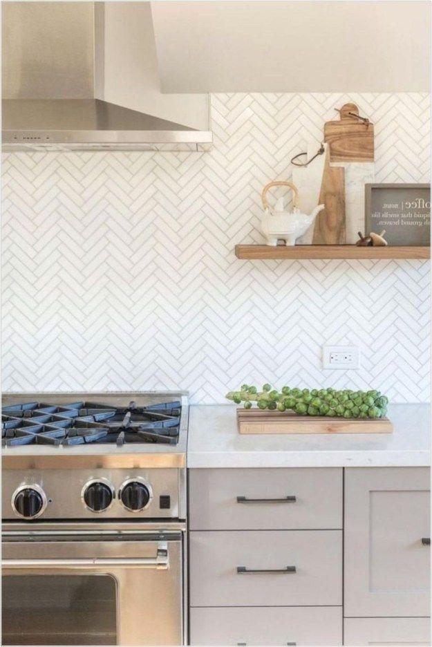 Cool Modern Farmhouse Kitchen Backsplash Ideas 33 Farmhouse