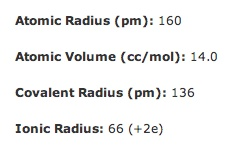 This shows the atomic radius and also the ionic radius for magnesium.